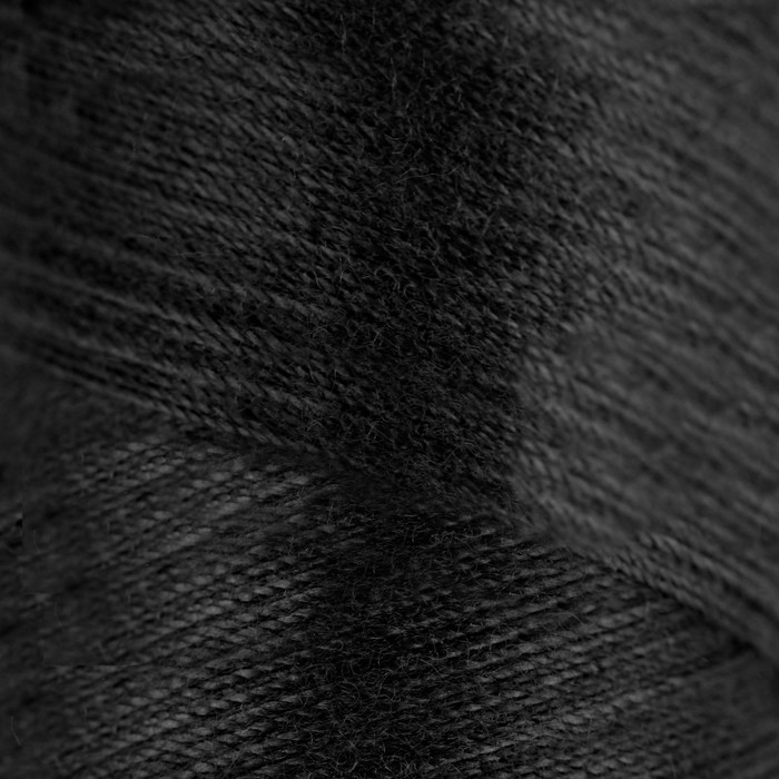 Нитки 45ЛЛ, №6818, 200 м, цвет чёрный