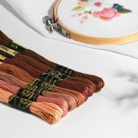 A set of threads floss