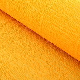 """Бумага гофрированная, 576 """"Светло-оранжевая"""", 0,5 х 2,5 м"""