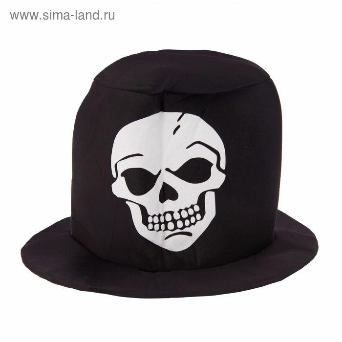 """Карнавальная шляпа """"Череп"""""""