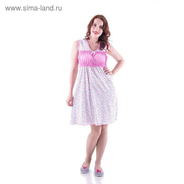 Сорочка женская  сн9 МИКС, р-р 46