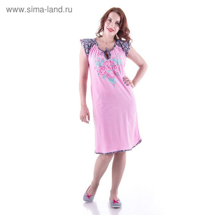 Сорочка женская  сн111 МИКС, р-р 52