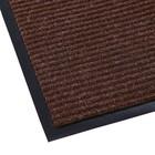 Коврик придверный влаговпитывающий, ребристый, «Стандарт», 60×90 см, цвет коричневый - фото 4657175