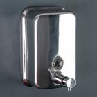 Дозатор для жидкого мыла Accoona A181, настенный, 500 мл, металл, хром