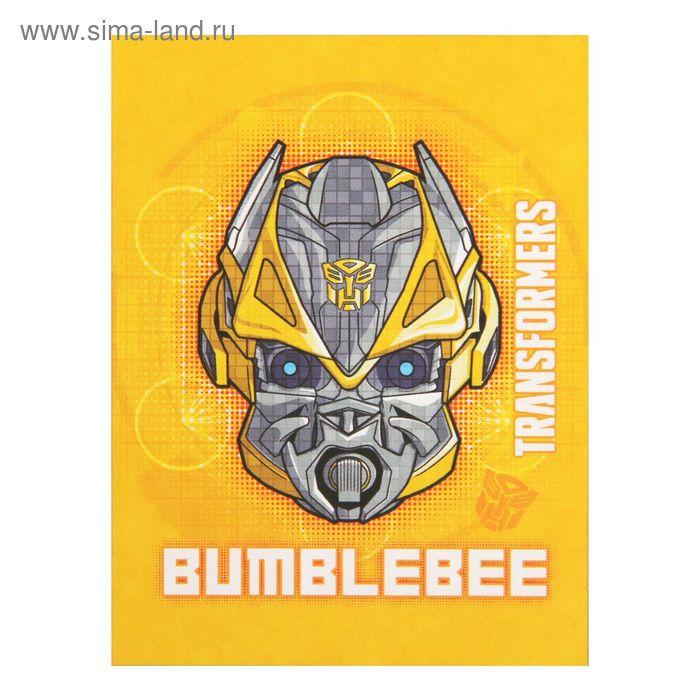 Плед флисовый Трансформеры Bumblebee 14, размер 150х200 см