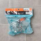 """Держатель для зубных щёток настенный """"Accoona A11104"""", 2 стакана, стекло, хром - фото 4650462"""