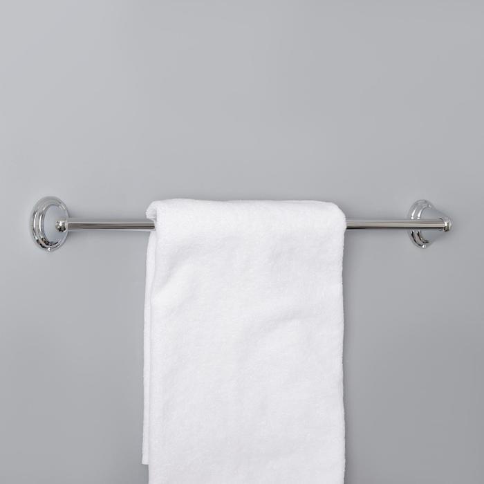 Держатель для полотенец одинарный, 60 см Accoona A11106, цвет хром
