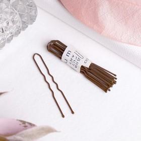 Шпильки для волос 'Бронзовый цвет' (набор 10 шт.) Ош