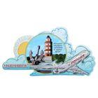 Магнит с самолётом «Мурманск»