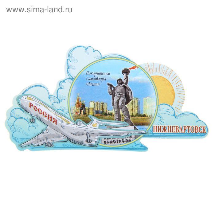 """Магнит с самолётом """"Нижневартовск"""""""