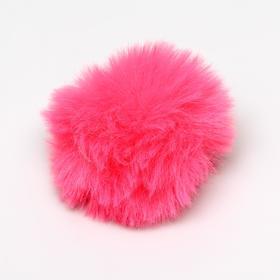 """Игрушка для кошек """"Меховой шарик"""", 5 см, искусственный мех, микс цветов - быстрая доставка"""