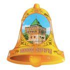 """Magnet with resin fill """"Nizhny Novgorod. Dmitrievskaya tower"""""""