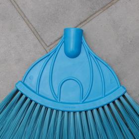 Метла веерная без черенка, цвет МИКС - фото 1635822