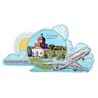 Магнит с самолётом «Новокузнецк»