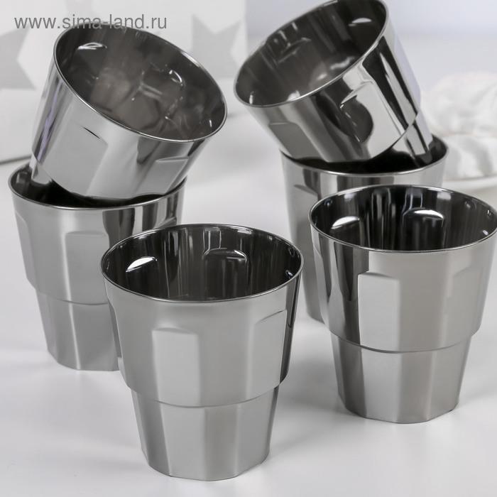 """Набор стаканов 250 мл """"Грани"""", 6 шт."""