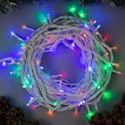 """Гирлянда """"Нить"""" уличная, УМС, 10 м, 3W LED-100-220V, нить белая, свечение мульти"""