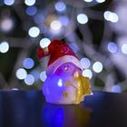"""Игрушка световая """"Снеговик-звезда"""" (батарейки в комплекте) 1 LED, RGB"""