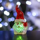 "Игрушка световая ""Гномик Дед Мороз"" (батарейки в комплекте) 1 LED, RGB"