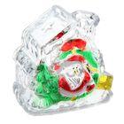 """Игрушка световая """"Домик с подарками деда мороза"""" (батарейки в комплекте) 1 LED, RGB"""