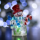 """Toy light """"Snowman and candy"""" (batteries included) 1 LED, RGB"""