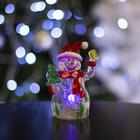 """Игрушка световая """"Снеговик-весельчак"""" (батарейки в комплекте) 1 LED, RGB"""