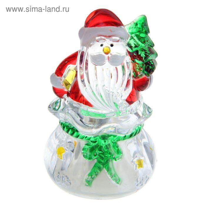 """Игрушка световая """"Подарок от деда мороза"""" (батарейки в комплекте) 1 LED, RGB"""