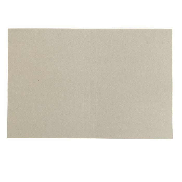 """Папка-обложка """"Дело"""" А4, плотность 370 г/м2, картон, белая, мелованная (на 300 листов)"""
