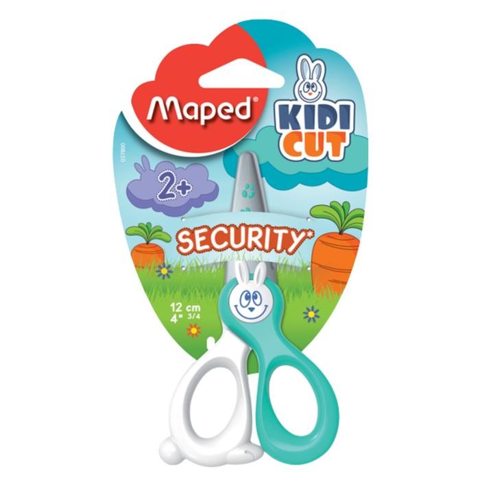 Ножницы детские 12см Kidi Cut, лезвия из стекловолокна, европодвес, микс