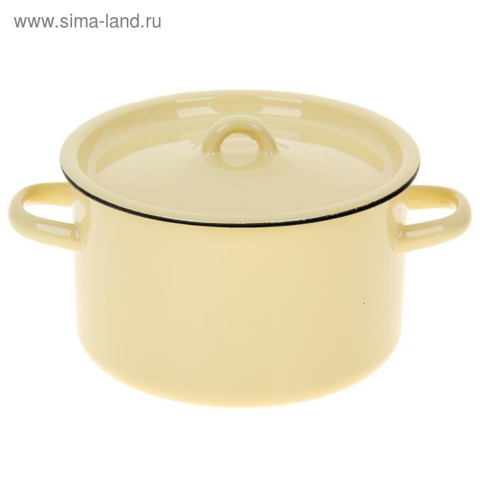 Кастрюля 2,9 л, цвет кремовый