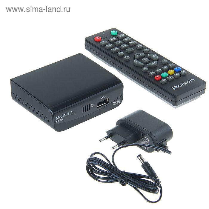 ТВ-приставка DVB-T2 ресивер Rolsen RDB-527
