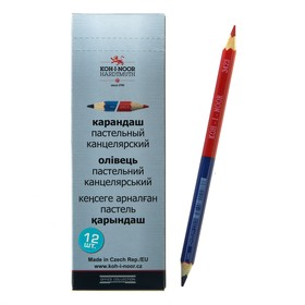 Pencil Koh-I-Noor two-tone 3423, blue-red.