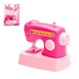 Швейная машинка 'Кукольный дом', работает от батареек Ош