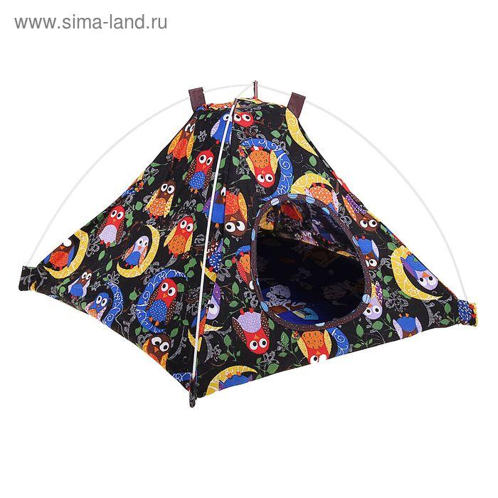 Домик-палатка складной, 44 х 44 х 30 см, микс цветов