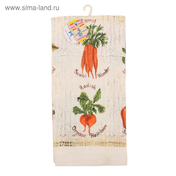 """Полотенце кухонное """"Collorista"""" Vegetables 35*61 см, 100% хлопок"""