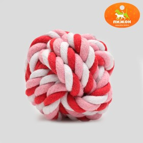 A ball of rope, 6 cm, mix colors