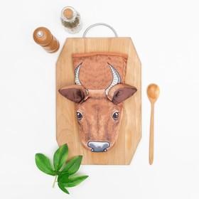 """Варежка-прихватка """"Collorista"""" Cow, 100% полиэстр"""