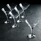 "Набор бокалов для мартини 190 мл ""Бистро"", 6 шт - фото 308063320"
