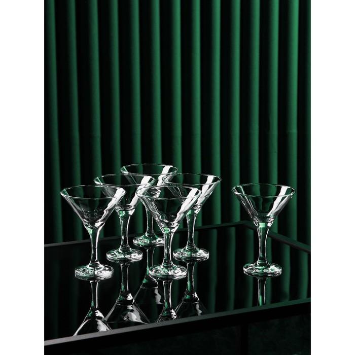 "Набор бокалов для мартини 190 мл ""Бистро"", 6 шт"