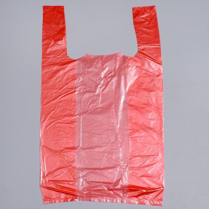 """Пакет-майка """"Цветная"""", полиэтиленовый, микс 4 цвета, 25 х 45 см, 5 мкм - фото 308983359"""