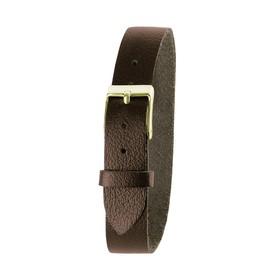 Ремешок для часов, женский, 8 мм, натуральная кожа, коричневый