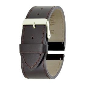 ремешок для часов, мужской, 28 мм, коричневый микс