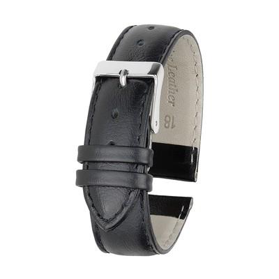 Ремешок для часов, мужской, 18 мм, черный, удлиненный, микс