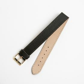Ремень кожаный, присоед. р-р 18 мм, коричневый микс Ош