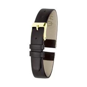 Ремешок для часов, женский, 8 мм, натуральная кожа, коричневый микс
