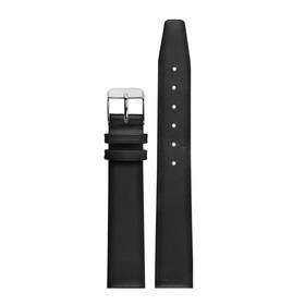 ремешок для часов, мужской, 16 мм, черный