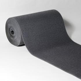 Покрытие ковровое щетинистое «Травка», 0,9×15 м, в рулоне, цвет мокрый асфальт