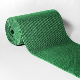 Покрытие ковровое щетинистое «Травка», 0,9×15 м, в рулоне, цвет зелёный
