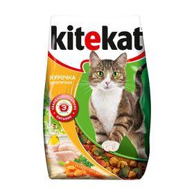 """Сухой корм KiteKat """"Аппетитная курочка"""" для кошек, 1,9 кг"""