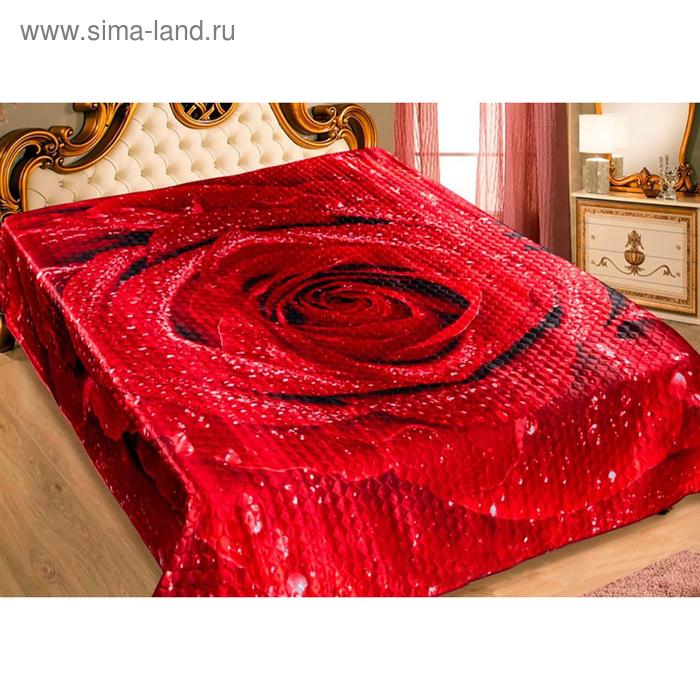 """Покрывало 3D Marianna """"Розалинда"""" евро макси, размер 230х250 см, искусственный шёлк"""
