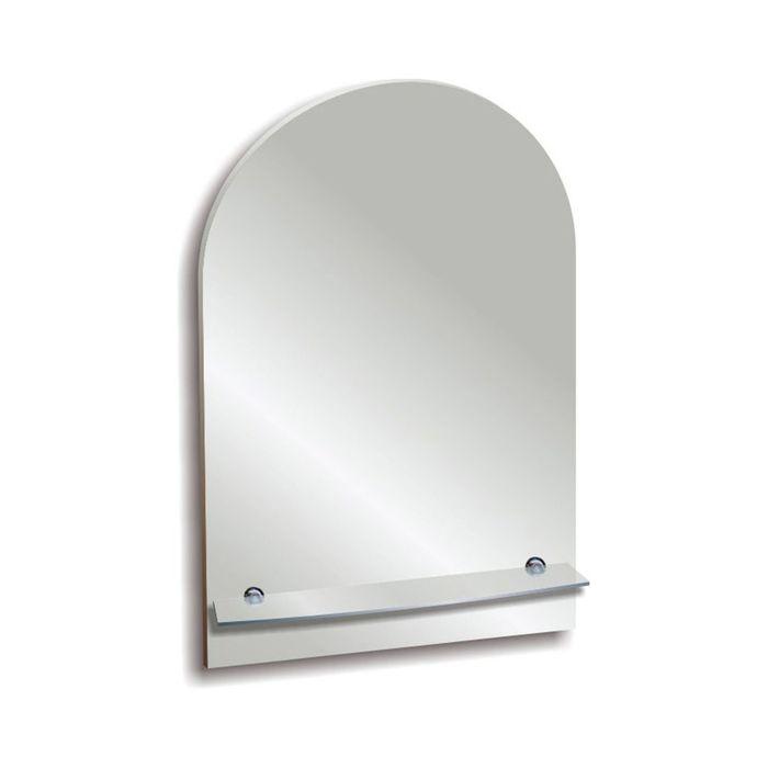 """Зеркало настенное """"Лидия"""" 51х58,5 см, с полочкой"""